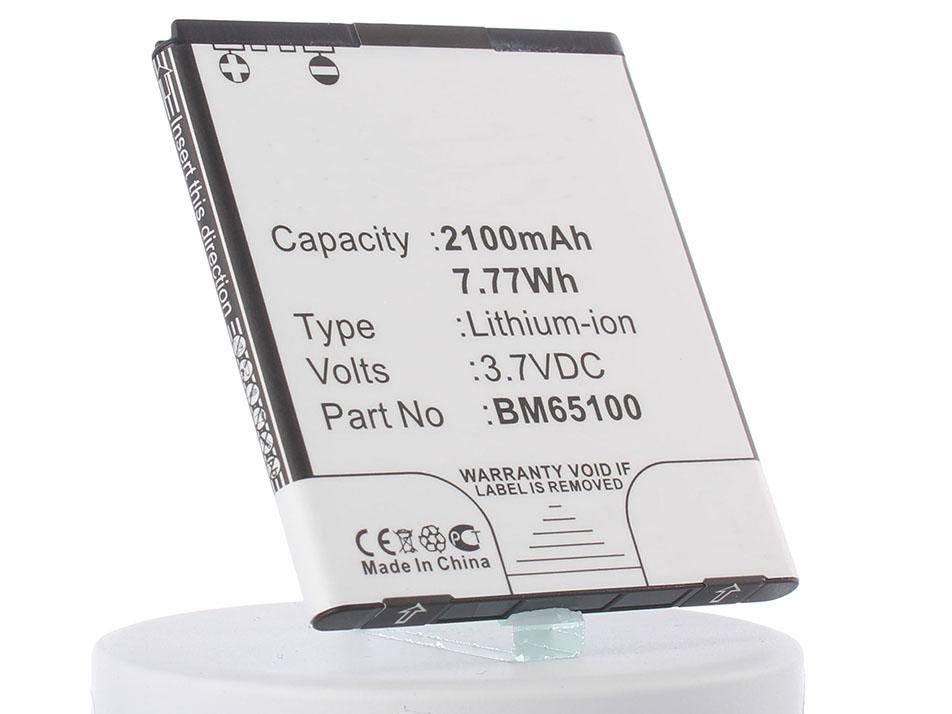 Аккумулятор для телефона iBatt iB-BM65100-M643