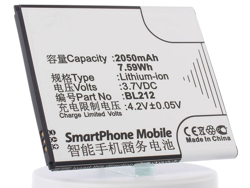 Аккумулятор для телефона iBatt iB-BL212-M670 аккумулятор для телефона ibatt bl208 для lenovo s920 s920 ideaphone