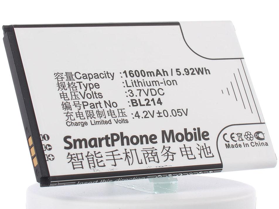 Аккумулятор для телефона iBatt iB-BL214-M672 аккумулятор для телефона ibatt ib lenovo a369i m672