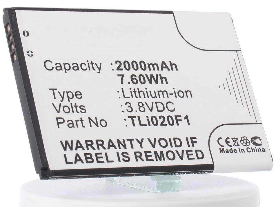 Аккумулятор для телефона iBatt iB-TLi020F1-M737 цена