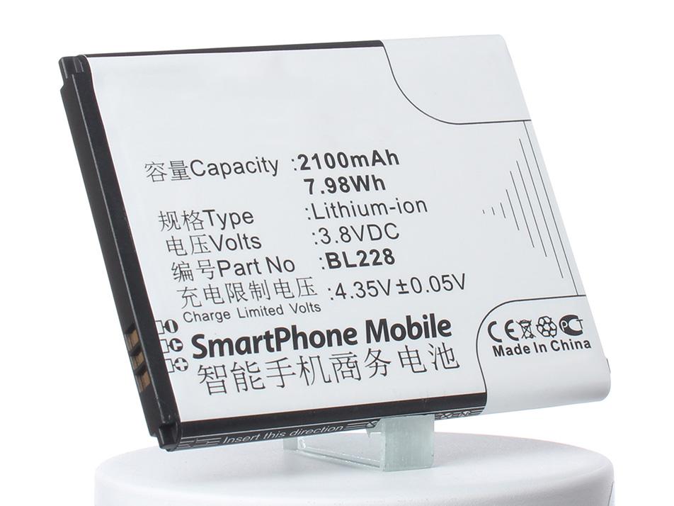 Аккумулятор для телефона iBatt iB-BL228-M738 аккумулятор для телефона ibatt bl208 для lenovo s920 s920 ideaphone