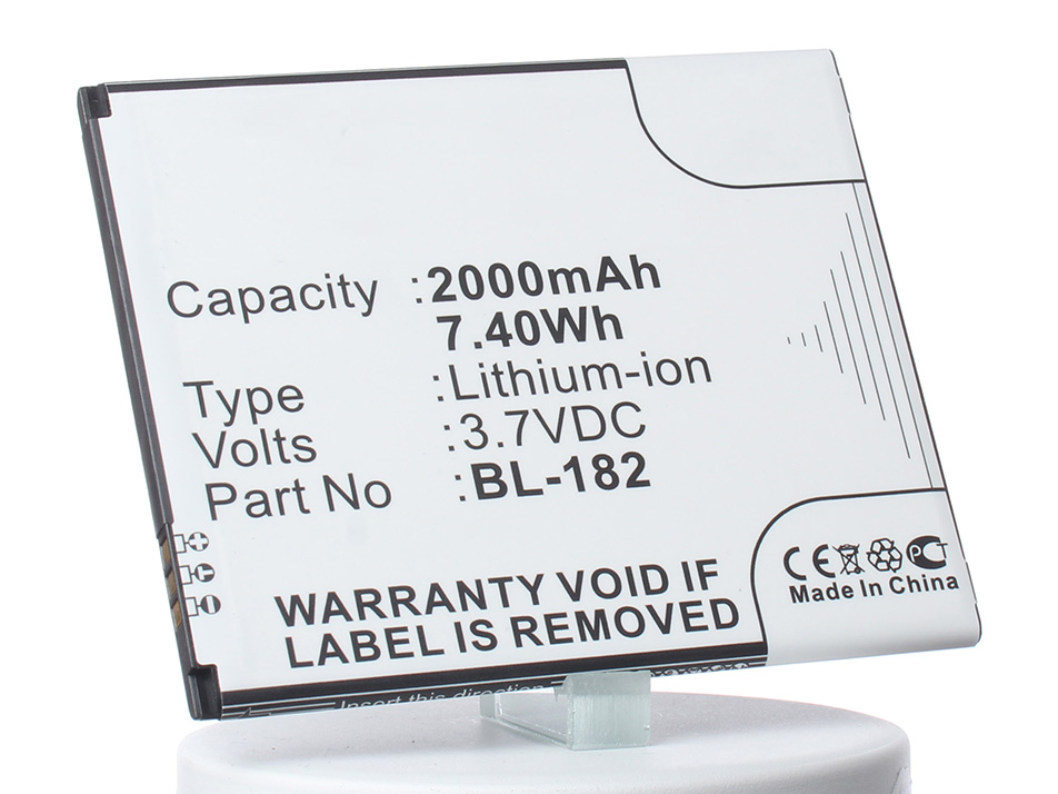 Аккумулятор для телефона iBatt iB-BL-182-M739 аккумулятор для телефона ibatt ib bl 4b m308