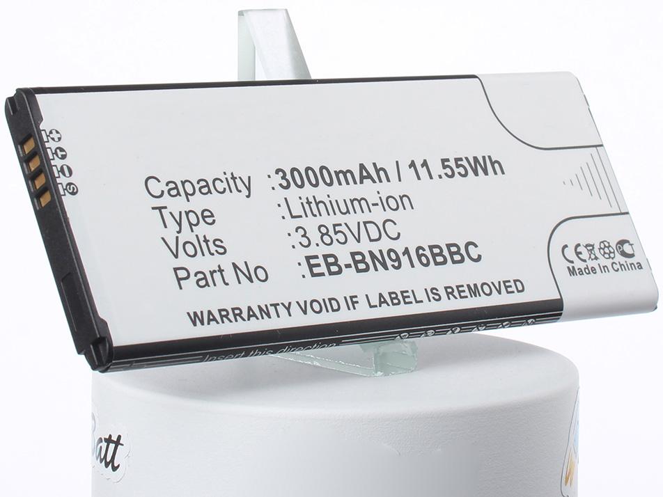 Аккумулятор для телефона iBatt iB-EB-BN916BBC-M1131 аккумулятор для телефона ibatt ib eb bn916bbc m1132