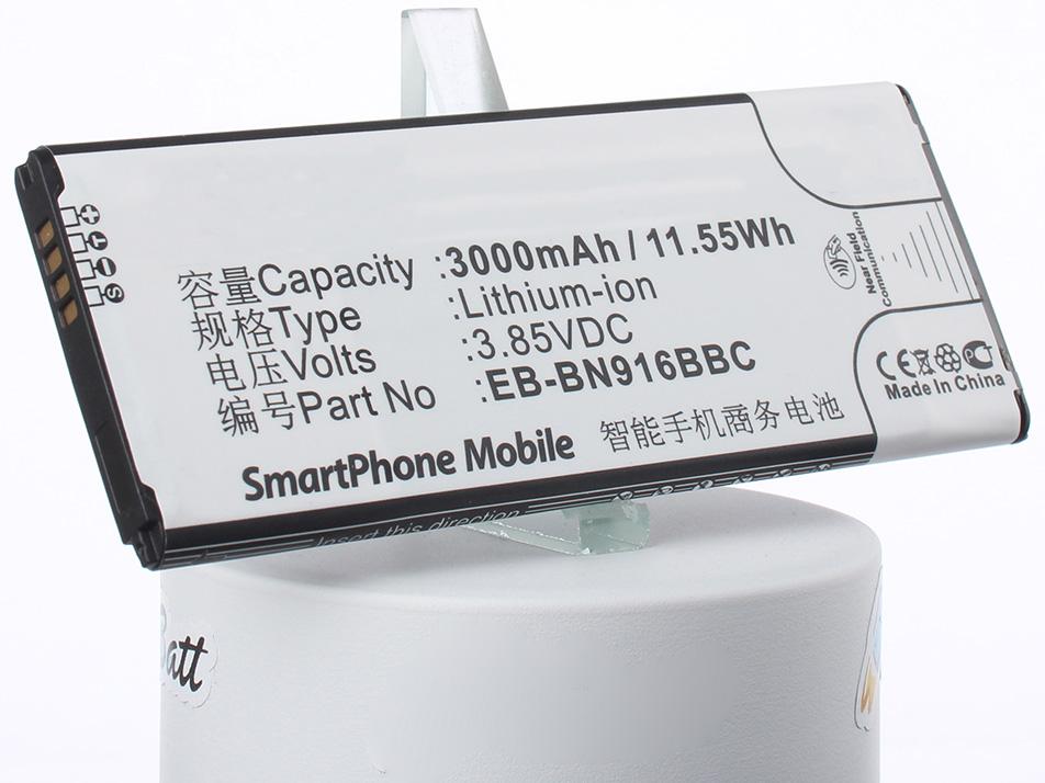 Аккумулятор для телефона iBatt iB-EB-BN916BBC-M1132 аккумулятор для телефона ibatt ib eb bn916bbc m1132