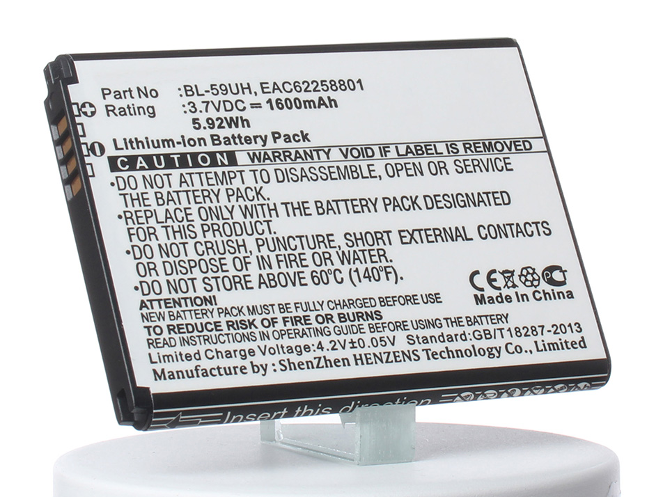 Аккумулятор для телефона iBatt iB-BL-59UH-M768 аккумулятор для телефона ibatt bl 59uh eac62258801 для lg d320 d620 d315 d618 optimus g2 mini d620 optimus g2 mini
