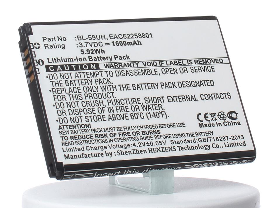 Аккумулятор для телефона iBatt iB-BL-59UH-M768