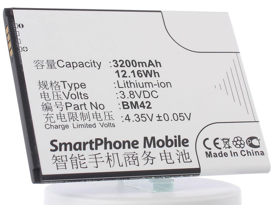 Аккумулятор для телефона iBatt iB-BM42-M769 аккумулятор для телефона ibatt ib bm42 m769