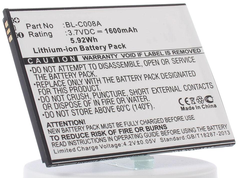Аккумулятор для телефона iBatt iB-BL4027-M778 аккумулятор для телефона ibatt bl3819 для fly iq4514 iq4514 quad evo tech 4