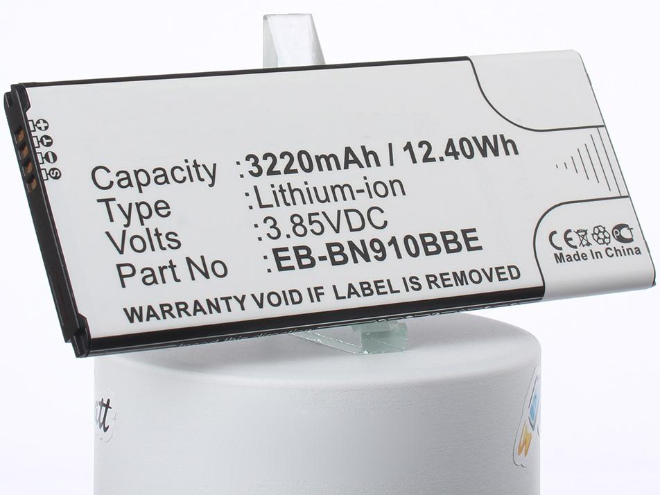 Аккумулятор для телефона iBatt iB-EB-BN910BBE-M1142 аккумулятор для телефона craftmann eb bn910bbe с датчиком nfc для samsung galaxy note 4 sm n910c sm n910f sm n910g sm n910h sm n910m sm n910u