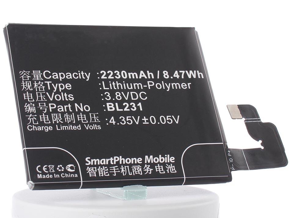 Аккумулятор для телефона iBatt iB-BL231-M813 аккумулятор для телефона ibatt ib bl3815 m1760
