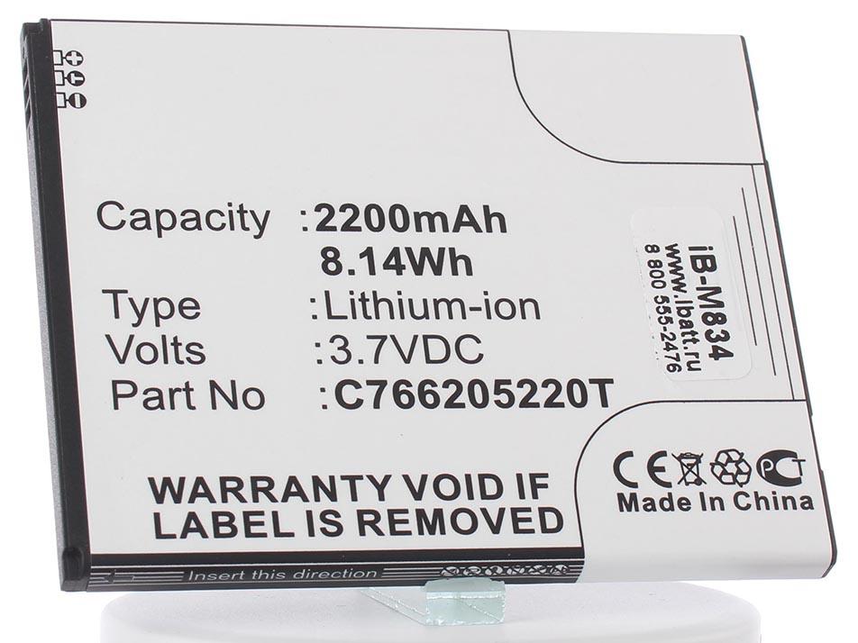 Аккумулятор для телефона iBatt iB-C766205220T-M834