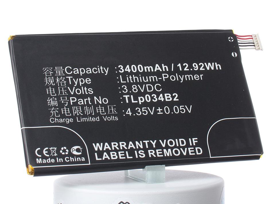 Аккумулятор для телефона iBatt iB-TLp034B2-M836