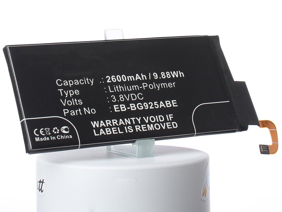 Аккумулятор для телефона iBatt iB-EB-BG925ABE-M869 внешний аккумулятор samsung eb pn930csrgru 10200mah серый