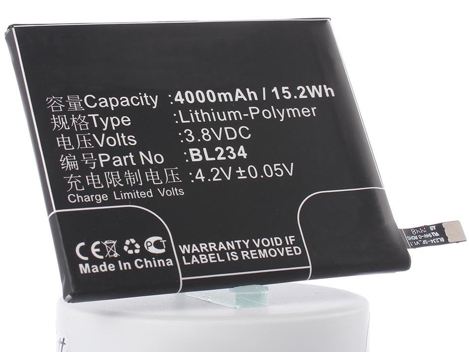 Аккумулятор для телефона iBatt iB-BL234-M891 аккумулятор для телефона ibatt ib lenovo p70 a m891