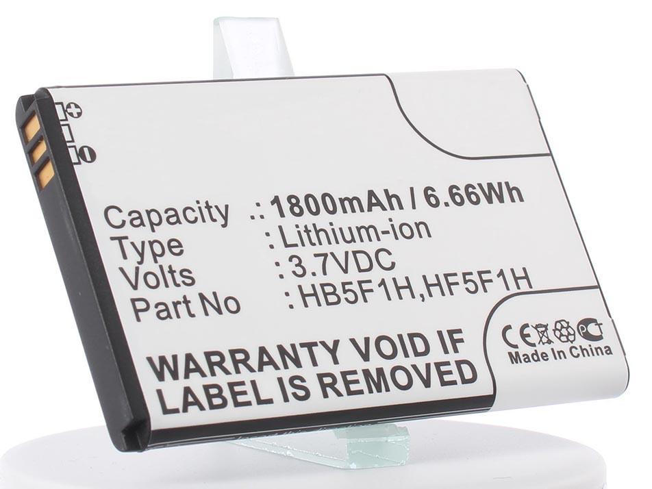 купить Аккумулятор для телефона iBatt iB-HB5F1H-M185 по цене 760 рублей