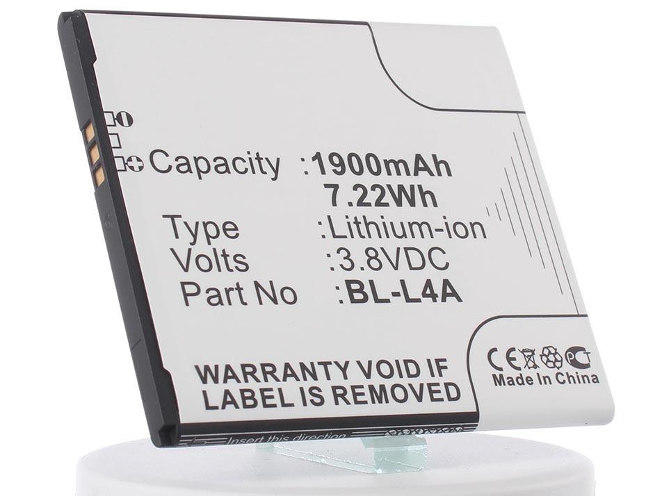 Аккумулятор для телефона iBatt iB-BL-L4A-M901
