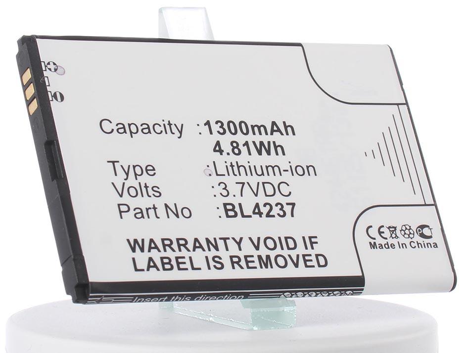 Аккумулятор для телефона iBatt iB-BL4237-M902