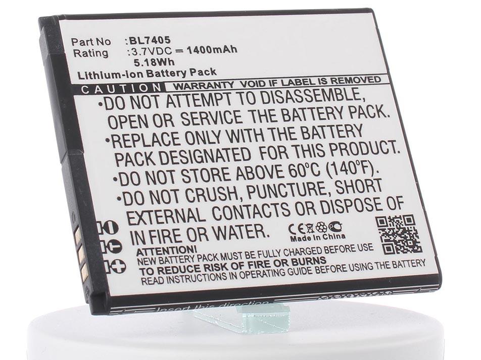 Аккумулятор для телефона iBatt iB-BL7405-M916 аккумулятор для телефона ibatt bl4237 для fly iq245 iq245 wizard iq246 iq430 evoke