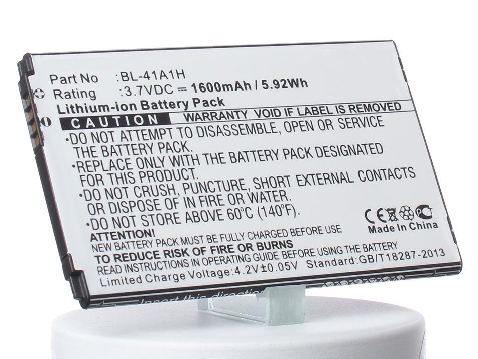 Аккумулятор для телефона iBatt iB-BL-41A1H-M934 аккумулятор для телефона ibatt ib lg k200 m934