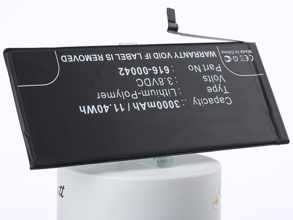Аккумулятор для телефона iBatt iB-616-00042-M1170 аккумулятор для телефона apple iphone 7 616 00256 1960mah