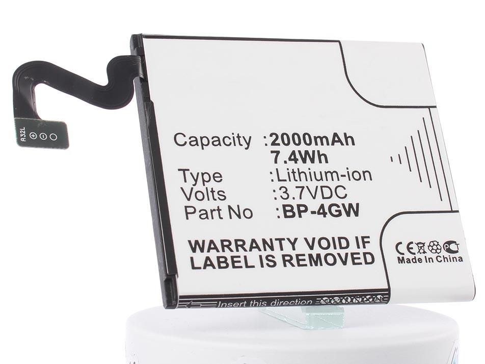 Аккумулятор для телефона iBatt iB-BP-4GW-M212 аккумулятор для телефона ibatt bp 4gw для nokia lumia phi