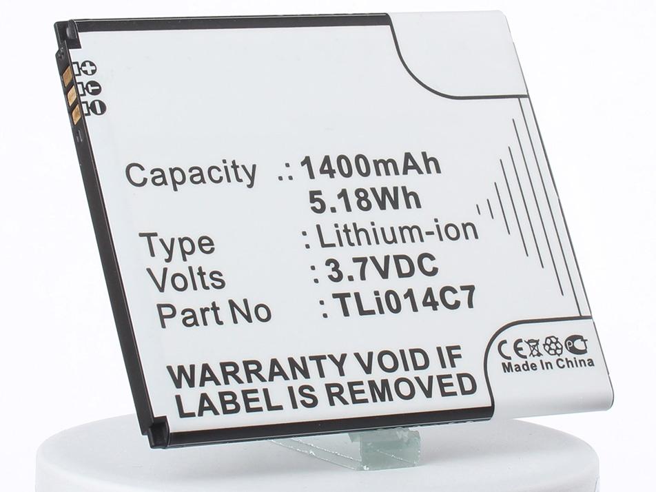 Аккумулятор для телефона iBatt iB-TLi014C7-M1221 цена и фото