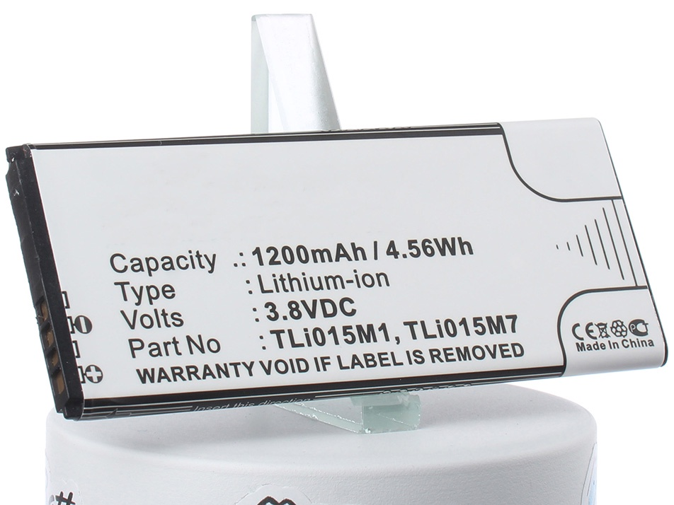 Аккумулятор для телефона iBatt iB-TLi015M1-M1222 аккумулятор для телефона ibatt ib tli015m1 m1222