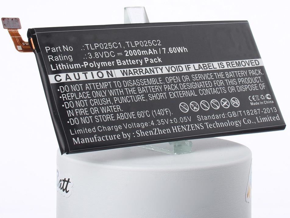 Аккумулятор для телефона iBatt iB-TLP025C1-M1228