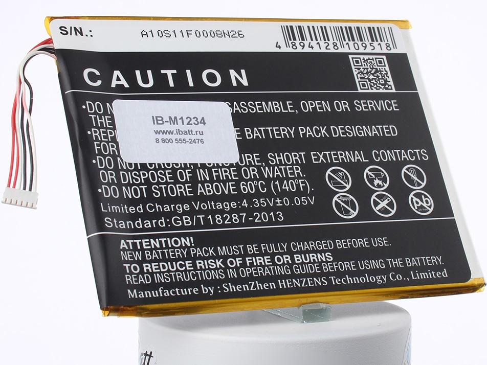 Аккумулятор для телефона iBatt iB-TLp028AD-M1234 цена