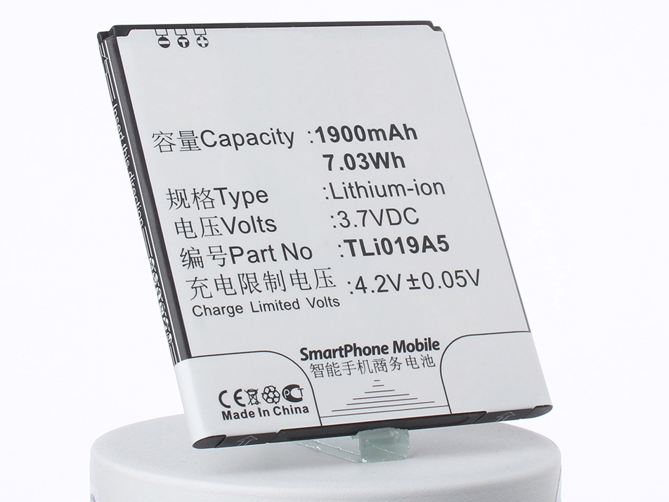 Аккумулятор для телефона iBatt iB-TLi018D1-M1251 аккумулятор для телефона ibatt ib alcatel one touch pop 3 5 m1251