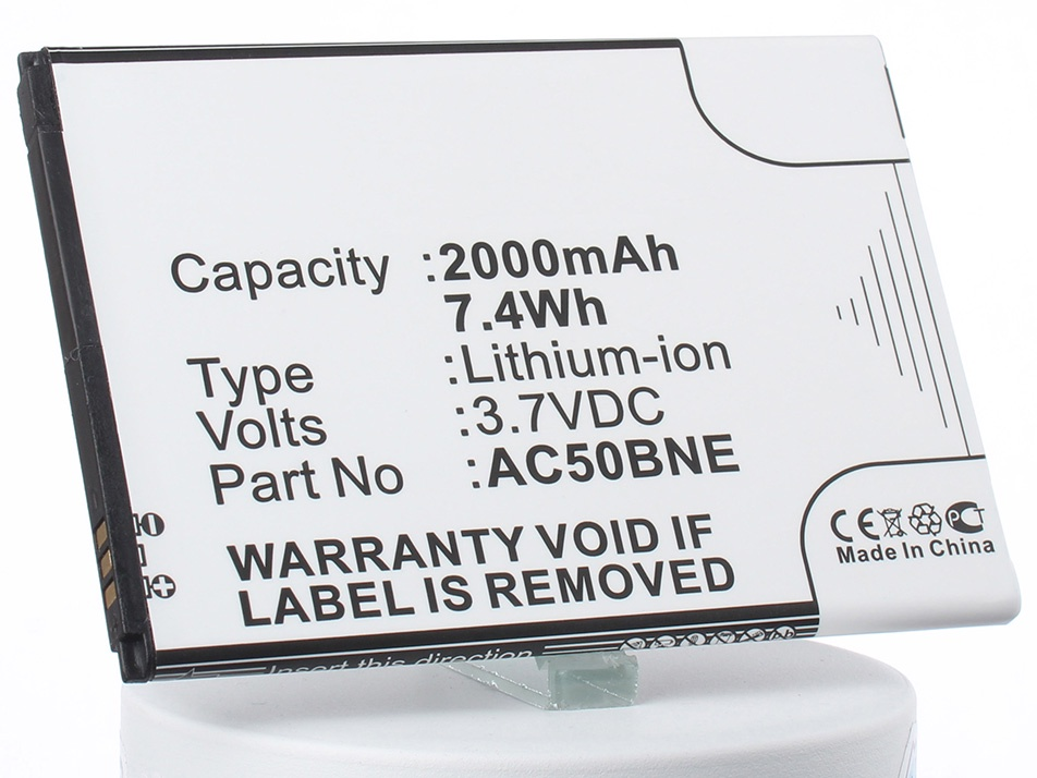Аккумулятор для телефона iBatt iB-AC50BNE-M1288 archos 70b neon