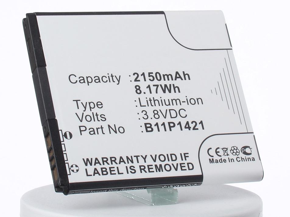 Аккумулятор для телефона iBatt iB-B11P1421-M1306 аккумуляторная батарея ibatt ib a669 6800 мач совместима с asus c22 ux31 cs aux31nb