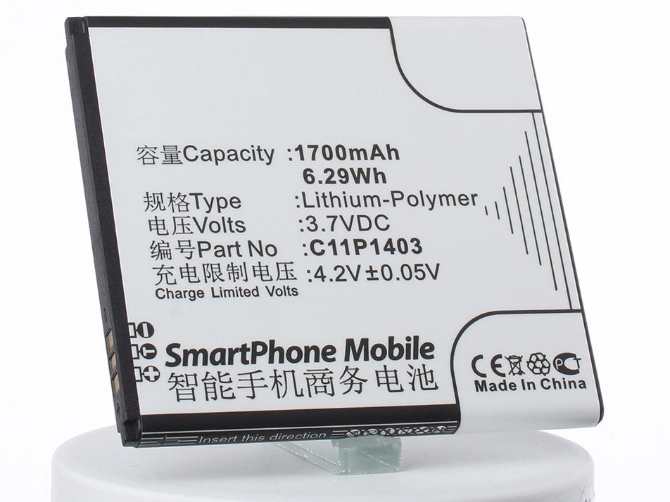 Аккумулятор для телефона iBatt iB-C11P1403-M1308 аккумулятор для телефона ibatt ib lis1502erpc m501