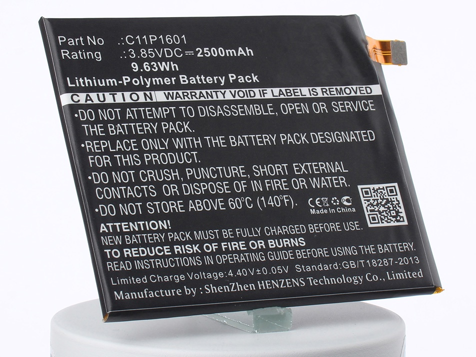 Аккумулятор для телефона iBatt iB-C11P1601-M1315 аккумулятор для телефона ibatt c11p1516 для asus zenfone 3 ultra zu680kl zenfone 3 ultra dual sim