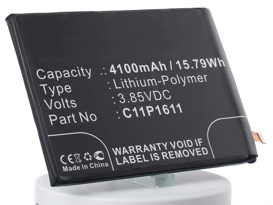 Аккумулятор для телефона iBatt iB-C11P1611-M1318 аккумуляторная батарея ibatt ib a669 6800 мач совместима с asus c22 ux31 cs aux31nb