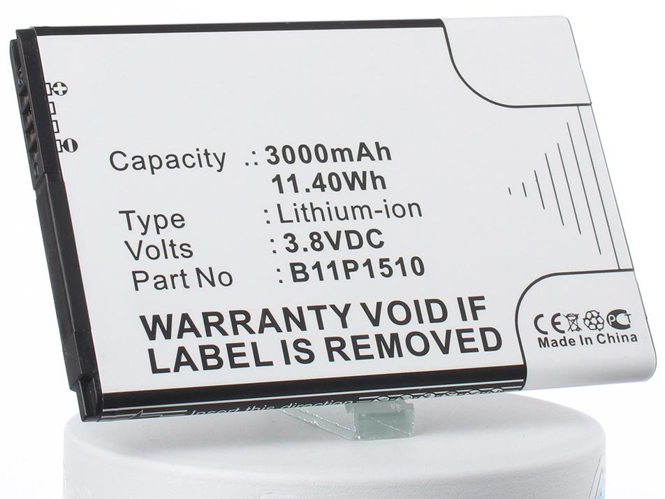 Аккумулятор для телефона iBatt iB-B11P1510-M1319 аккумуляторная батарея ibatt ib a669 6800 мач совместима с asus c22 ux31 cs aux31nb