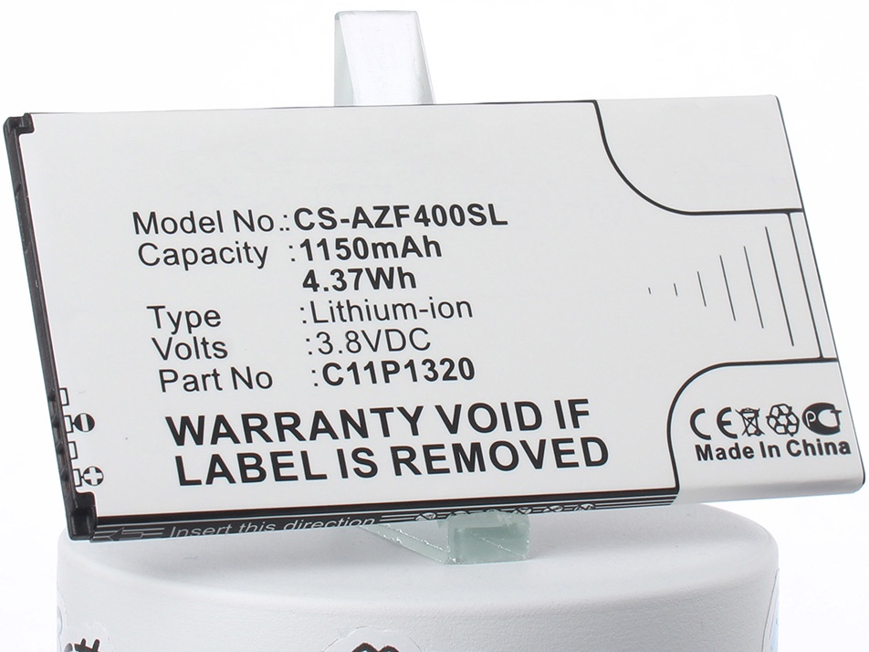 Аккумулятор для телефона iBatt iB-C11P1320-M1322 аккумуляторная батарея ibatt ib a669 6800 мач совместима с asus c22 ux31 cs aux31nb