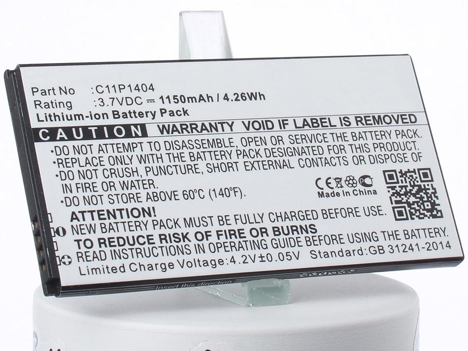 Аккумулятор для телефона iBatt iB-C11P1404-M1323 аккумуляторная батарея ibatt ib a669 6800 мач совместима с asus c22 ux31 cs aux31nb