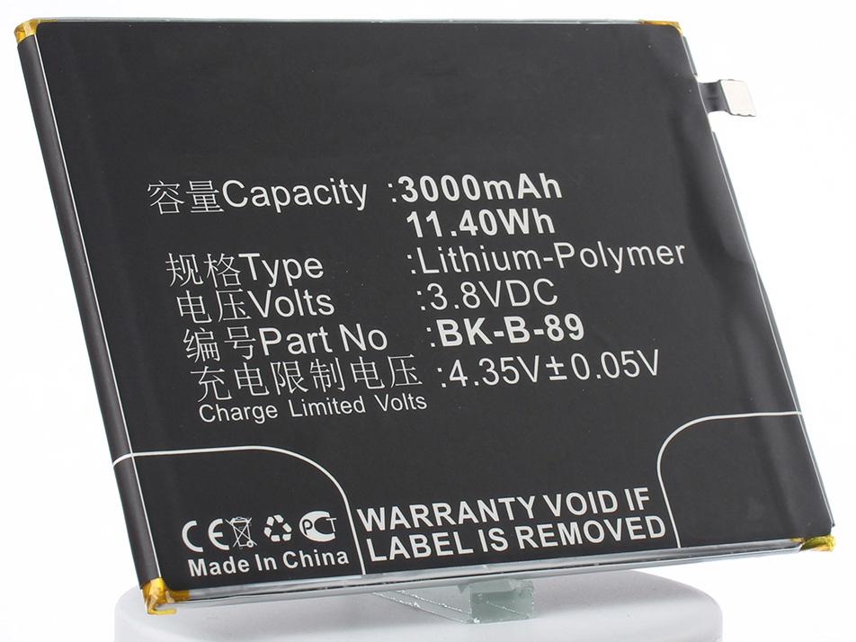 Аккумулятор для телефона iBatt iB-BK-B-89-M1383 аккумулятор для телефона ibatt ib huawei u9000 ideos x6 m168