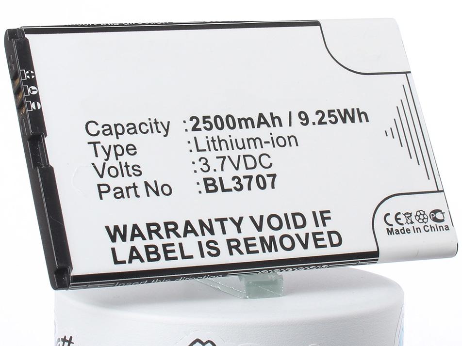 Аккумулятор для телефона iBatt iB-BL3707-M1759 аккумулятор для телефона ibatt bl4237 для fly iq245 iq245 wizard iq246 iq430 evoke