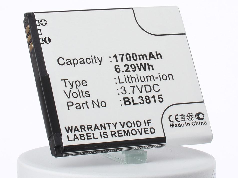 Аккумулятор для телефона iBatt iB-BL3815-M1760 аккумулятор для телефона ibatt ib bl3815 m1760
