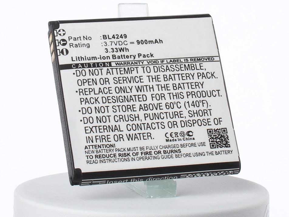 Аккумулятор для телефона iBatt iB-BL4249-M1762 аккумулятор для телефона ibatt bl4237 для fly iq245 iq245 wizard iq246 iq430 evoke