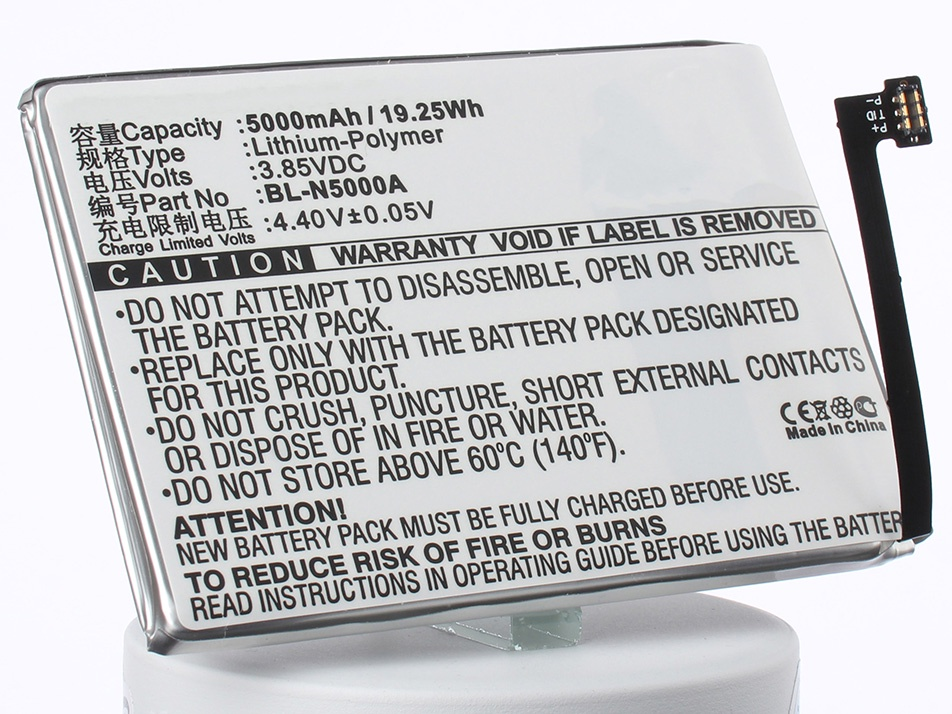 Аккумулятор для телефона iBatt iB-BL-N5000A-M1815 аккумулятор для телефона ibatt ib bl 4b m308