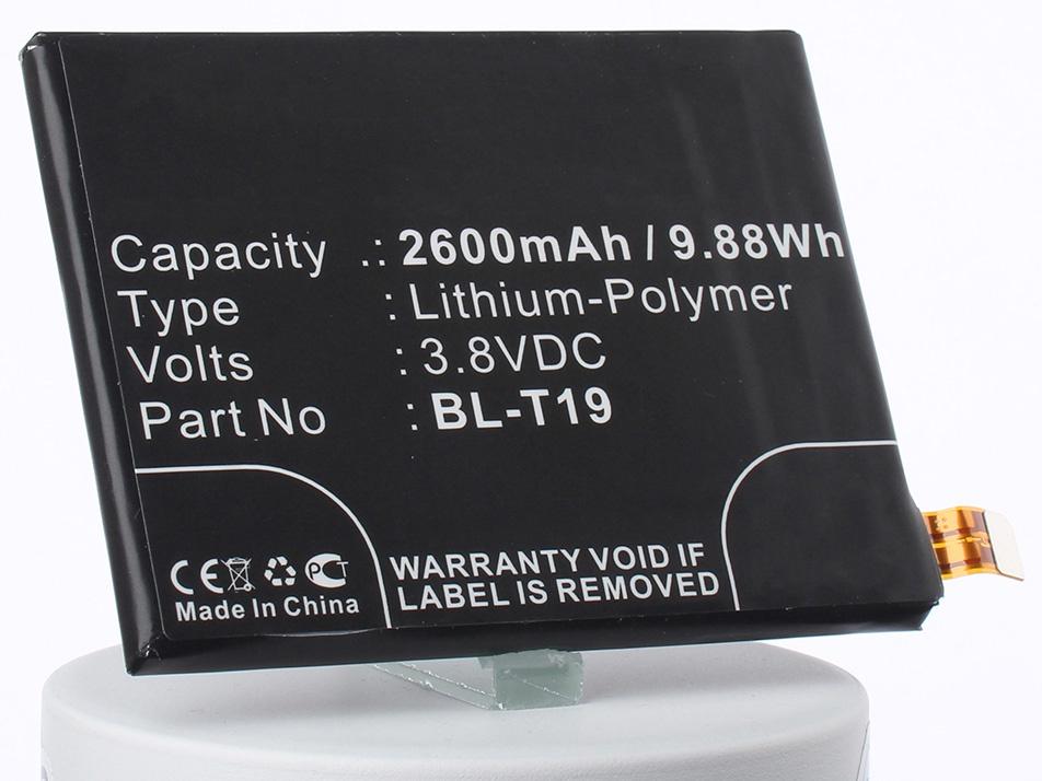 Аккумулятор для телефона iBatt iB-BL-T19-M1833 аккумулятор для телефона ibatt ib google nexus 6p m1832