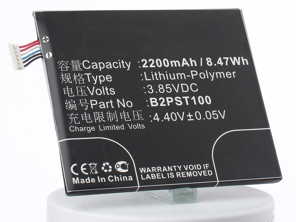 Аккумулятор для телефона iBatt iB-B2PST100-M1922 аккумулятор для телефона ibatt ib lis1502erpc m501