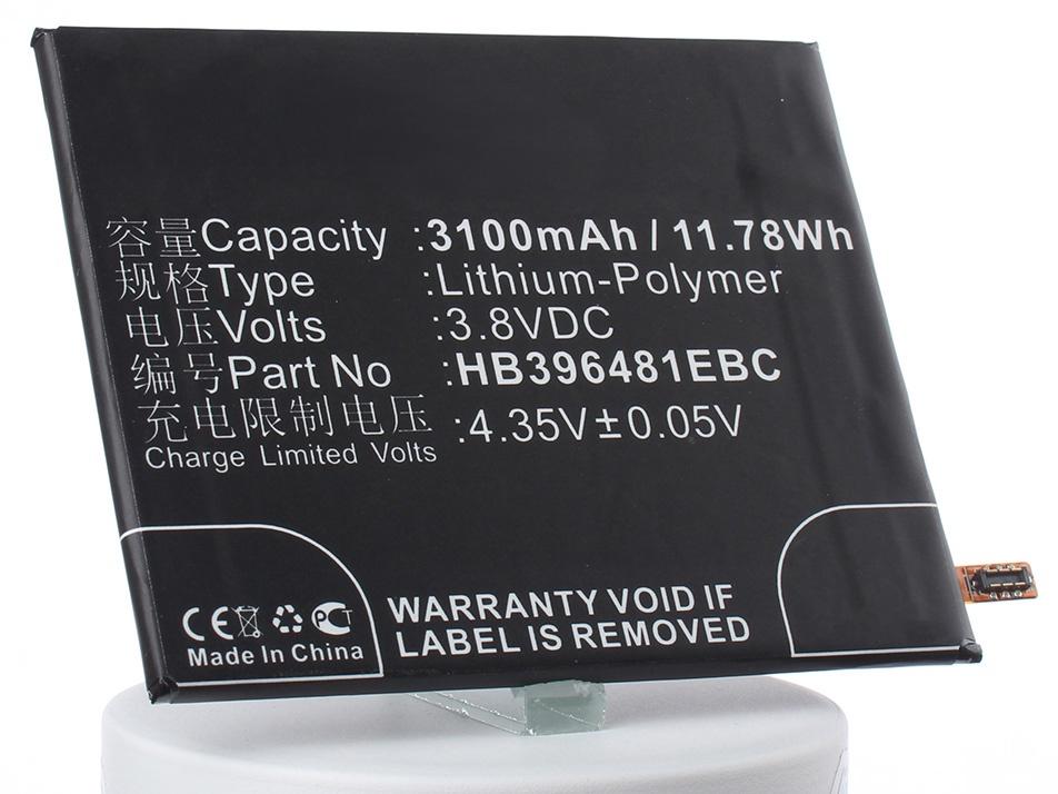 Аккумулятор для телефона iBatt iB-HB396481EBC-M1990 аккумулятор для телефона ibatt ib huawei cam al00 m1990