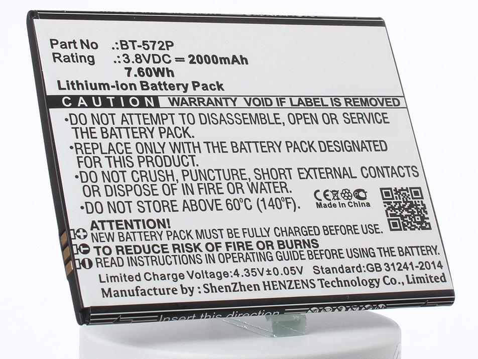 Аккумулятор для телефона iBatt iB-BT-572P-M2086 аккумулятор для телефона ibatt bt 501 для leagoo alfa 5