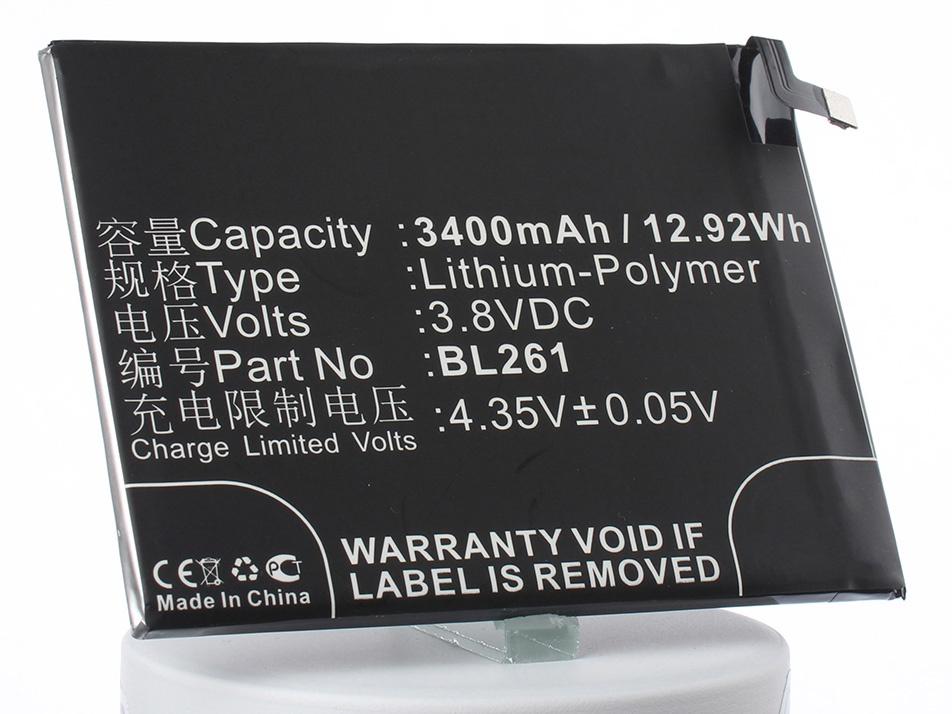 Аккумулятор для телефона iBatt iB-BL261-M2122 аккумулятор для телефона ibatt ib lis1502erpc m501
