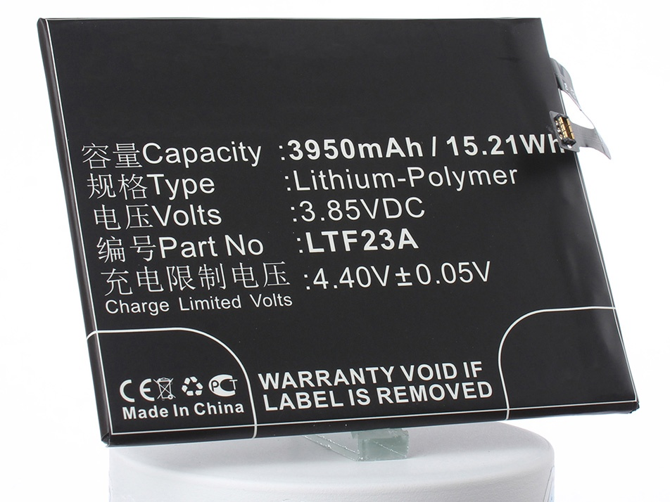 Аккумулятор для телефона iBatt iB-LTF23A-M2134 аккумулятор для телефона ibatt ib bmc 3 m1042