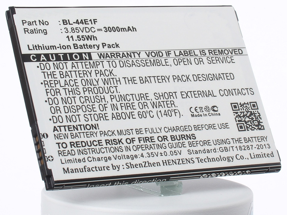 Аккумулятор для телефона iBatt iB-BL-44E1F-M2146 аккумулятор для телефона ibatt ib bl 4b m308